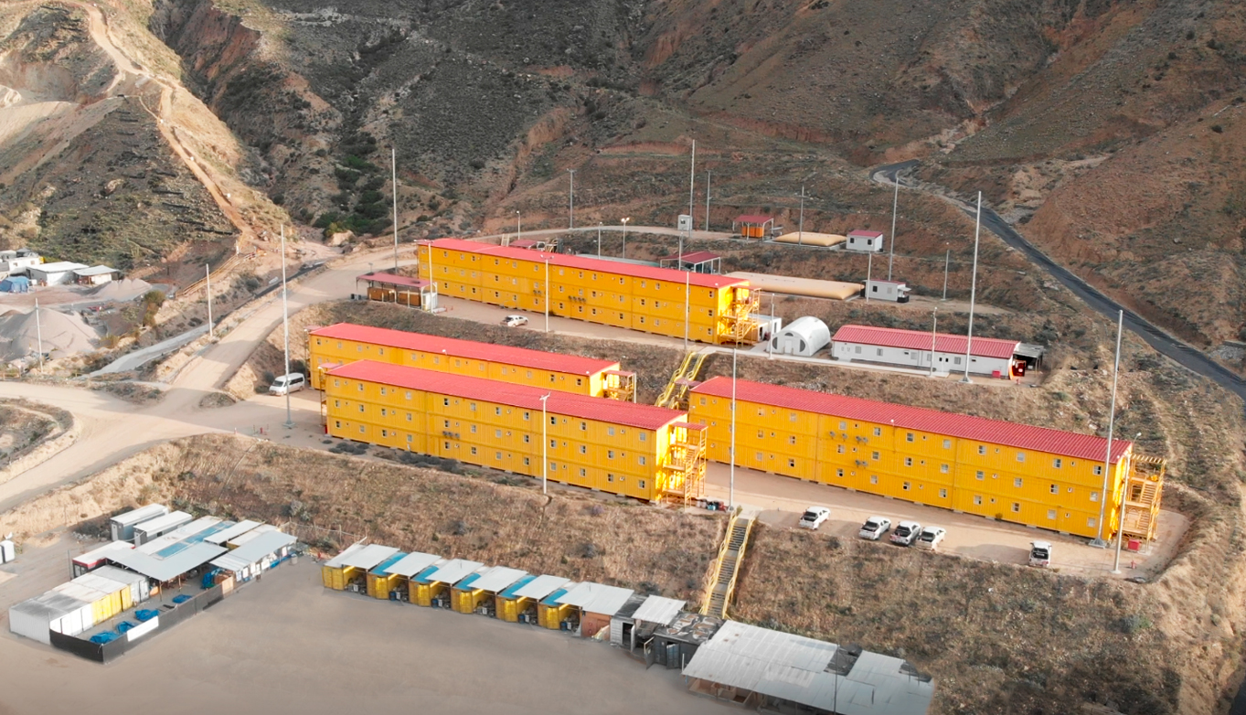 Campamento de construcción Quellaveco