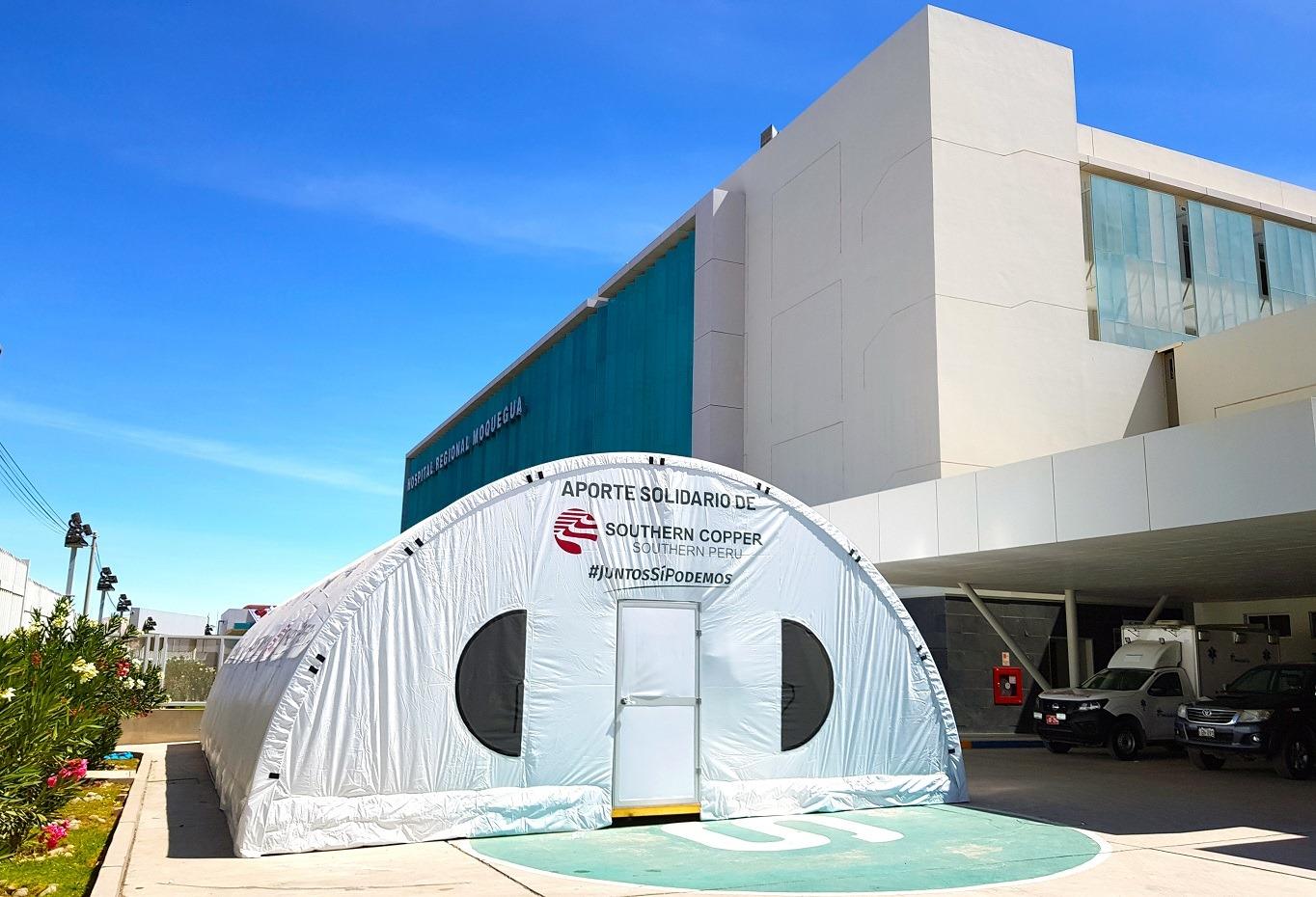 Promet participe en el suministro de los Módulos Hospitalarios de Southern Perú